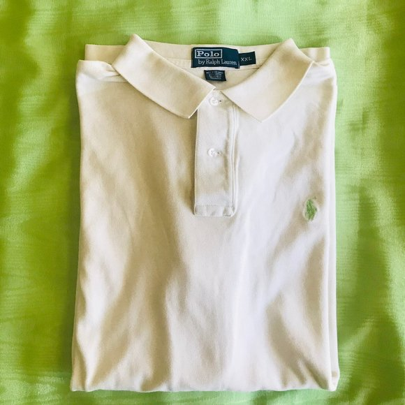 Polo by Ralph Lauren Other - Ralph Lauren White Iconic Mesh Polo Shirt Sz 2XL